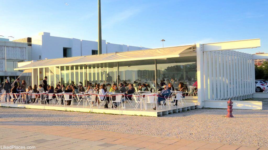 Terrace in Belém, Lisbon