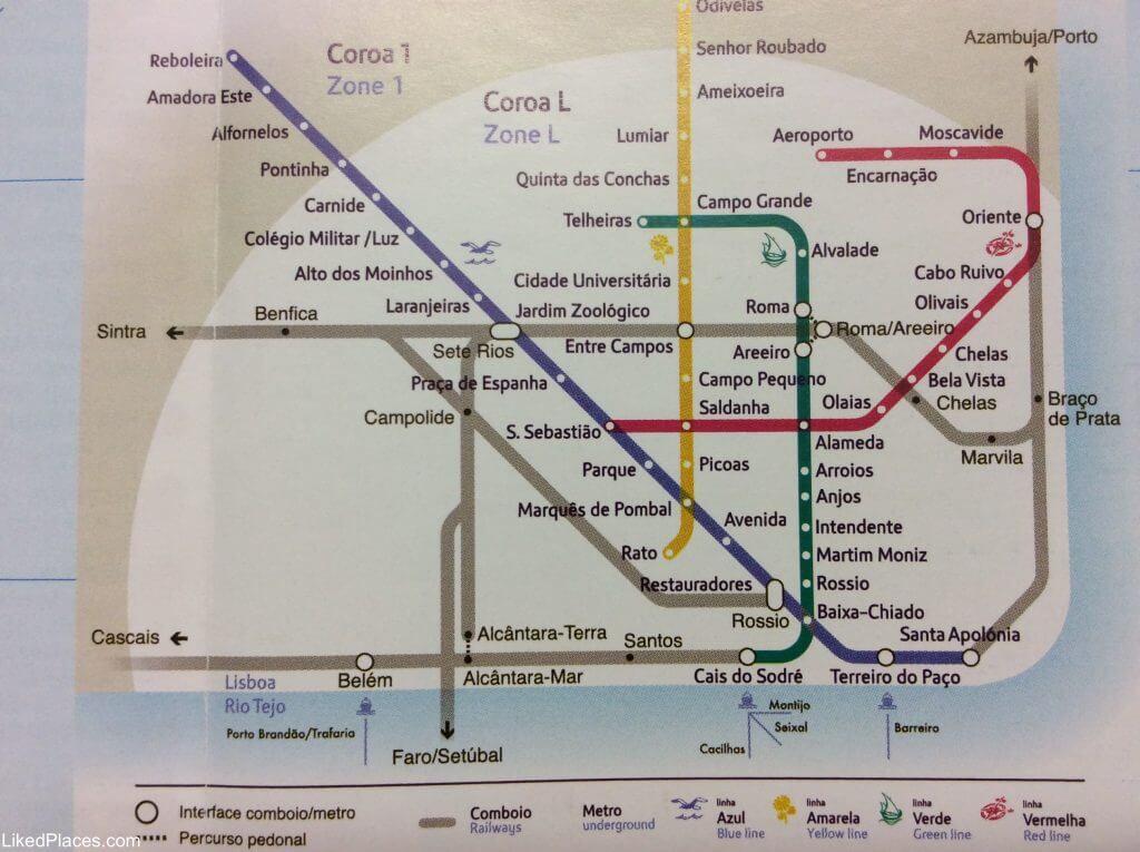 Lisbon Metro Network