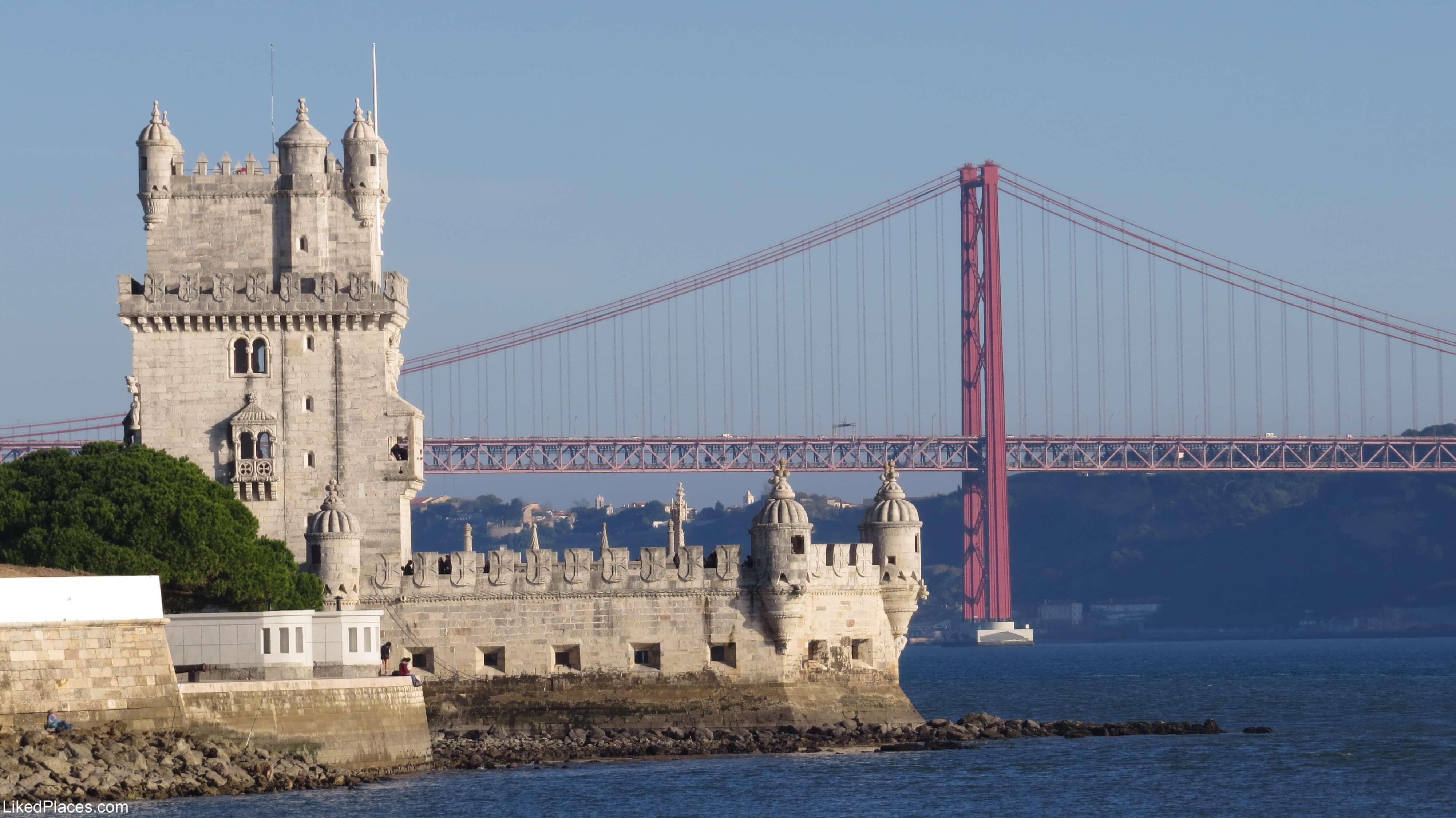 29068d6a1 Visitar Lisboa: Guia de Viagem - Torre de Belém e Ponte 25 de Abril