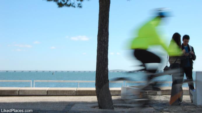 Lisboa Andar de Bicicleta no Parque das Nações - residente não habitual