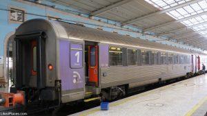 Lisboa Comboio na estação de Santa Apolónia