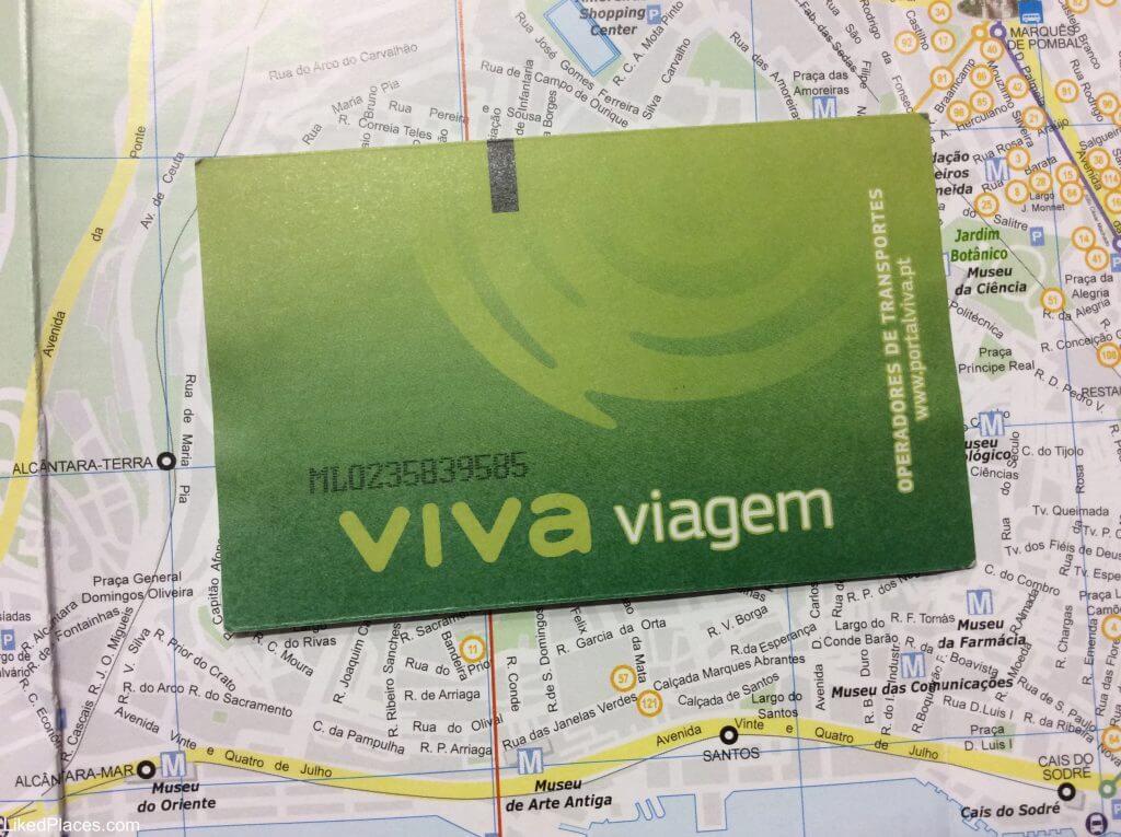Cartão Lisboa Viva