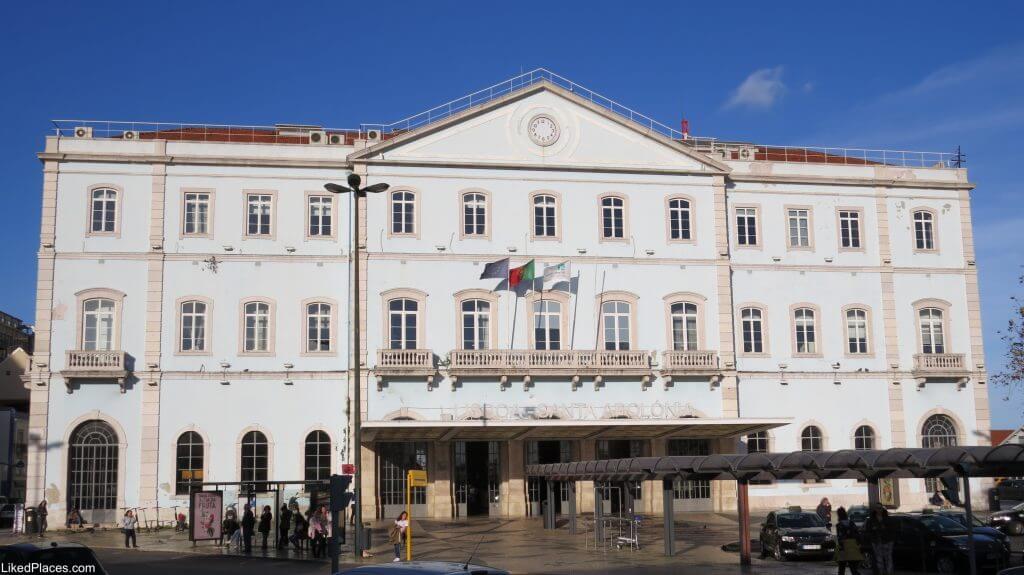 Lisbon Santa Apolónia Station