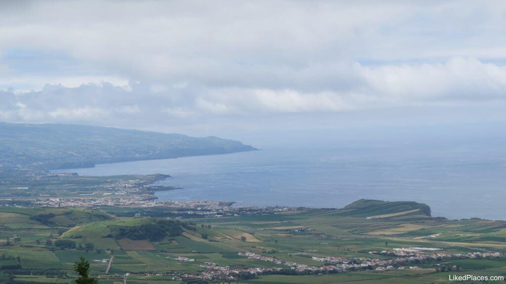 Vista do Miradouro da Bela Vista, Ribeira Grande, Ilha de São Miguel, Açores, Island Azores - Monte Verde Festival -