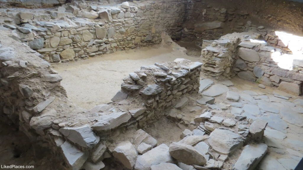 Ruins of the 12th Century House in the lower Hotel Museum, Mértola, Alentejo