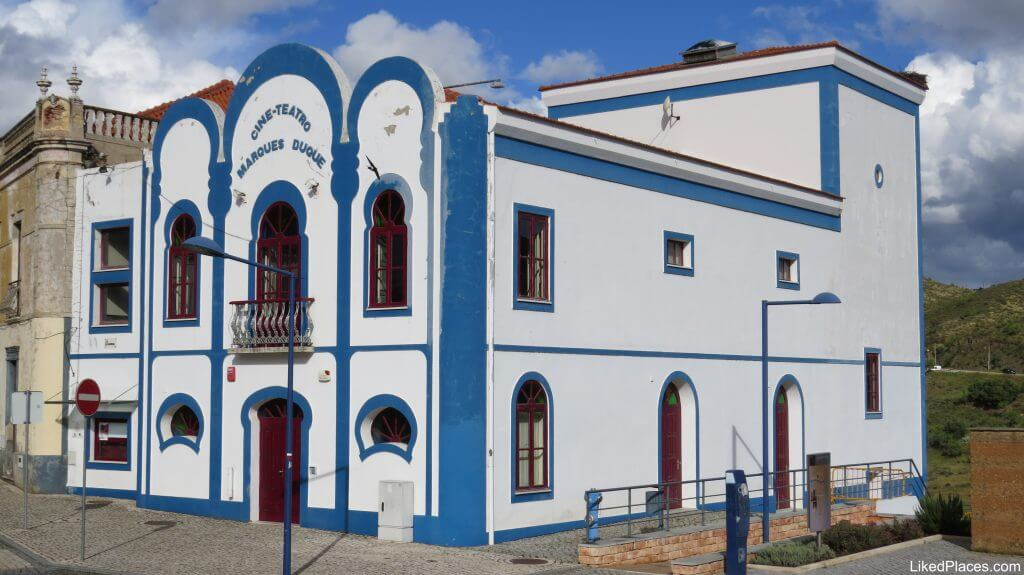 Marques Duque Cine-Theater Building, Mértola, Alentejo