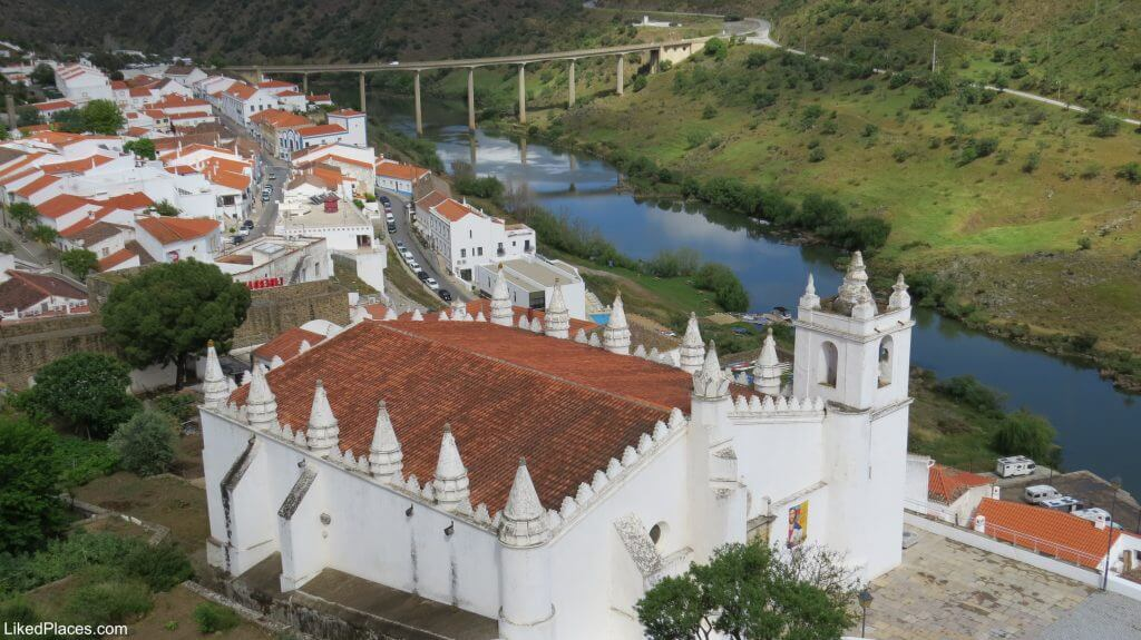 Mértola Igreja Matriz que foi uma Antiga Mesquita