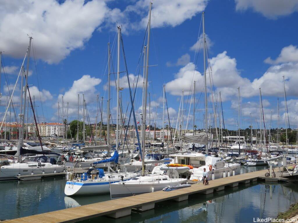 Algarve Boats Moored in Lagos Marina