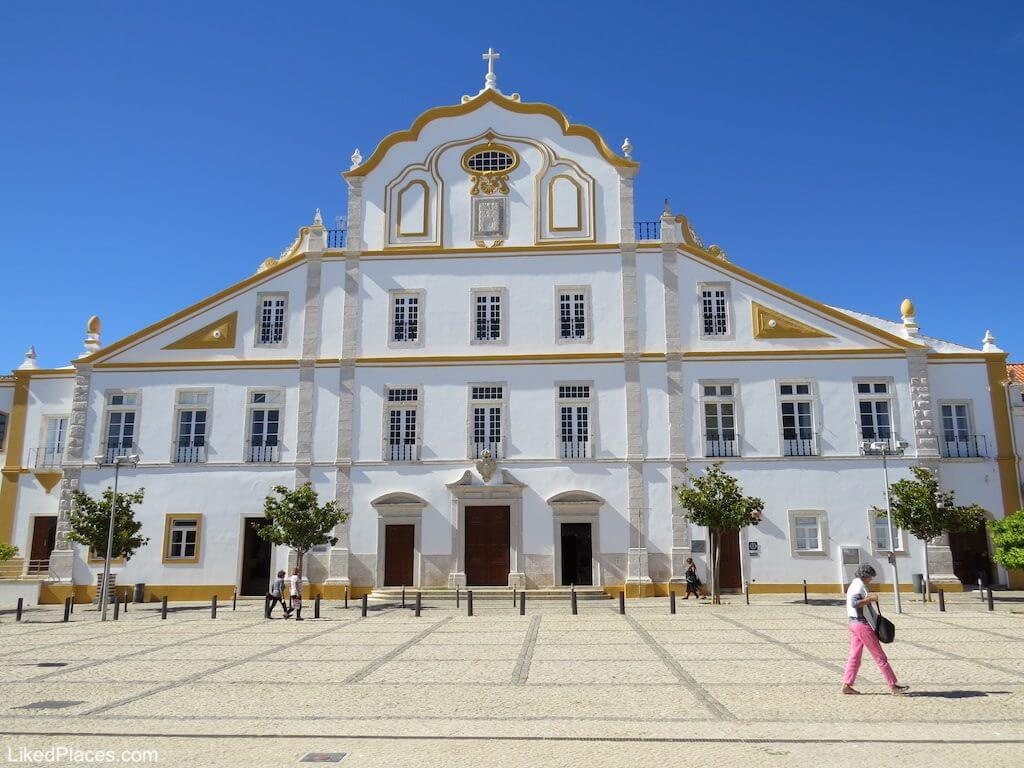 Algarve Facade of the Jesuit College in Portimão