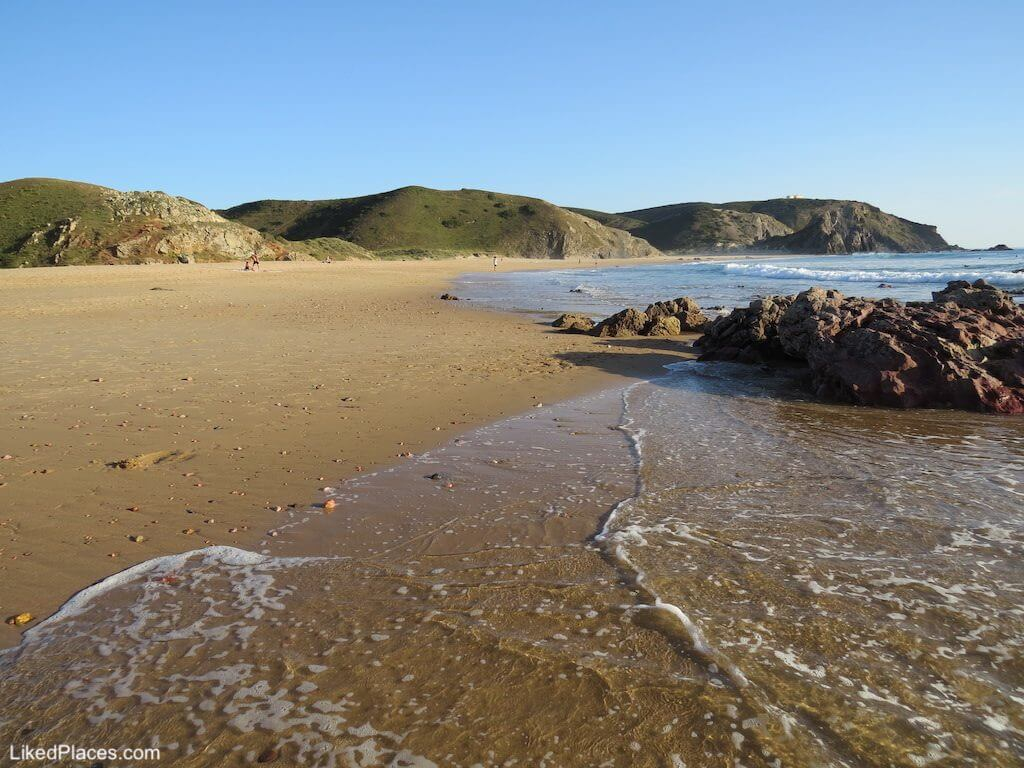 Algarve, vista da Praia do Amado em Aljezur