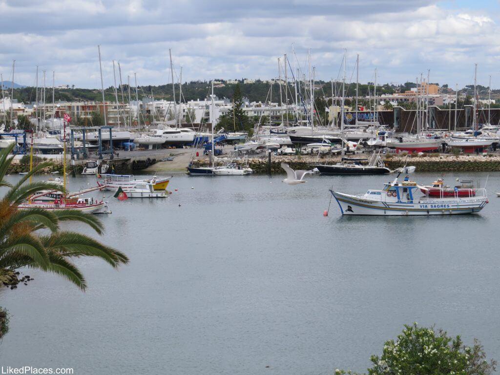 Lagos Vista para a Marina