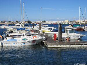 Barcos de recreio em Portimão, desportos no Algarve; Boats in Portimão, Sports in Algarve