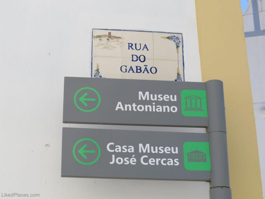 Aljezur Museum Signs