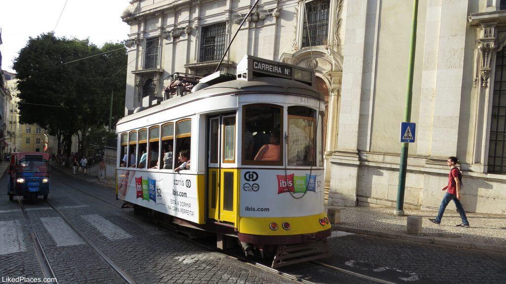 Elétrico 28, Lisboa, Tram 28, Lisbon