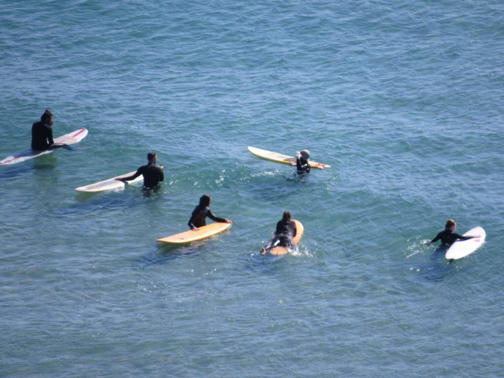 Surfers on Vicentina Coast, Algarve