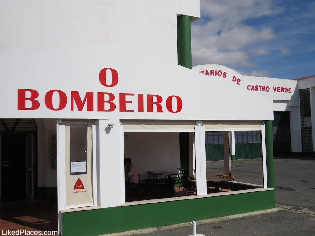 O Bombeiro Restaurant, Castro Verde