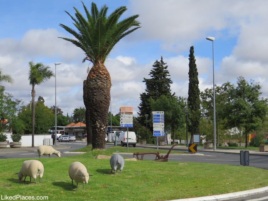 Rotunda das Ovelhas, Castro Verde