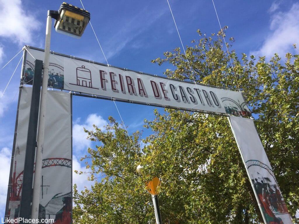 Portico of the Castro Verde Fair