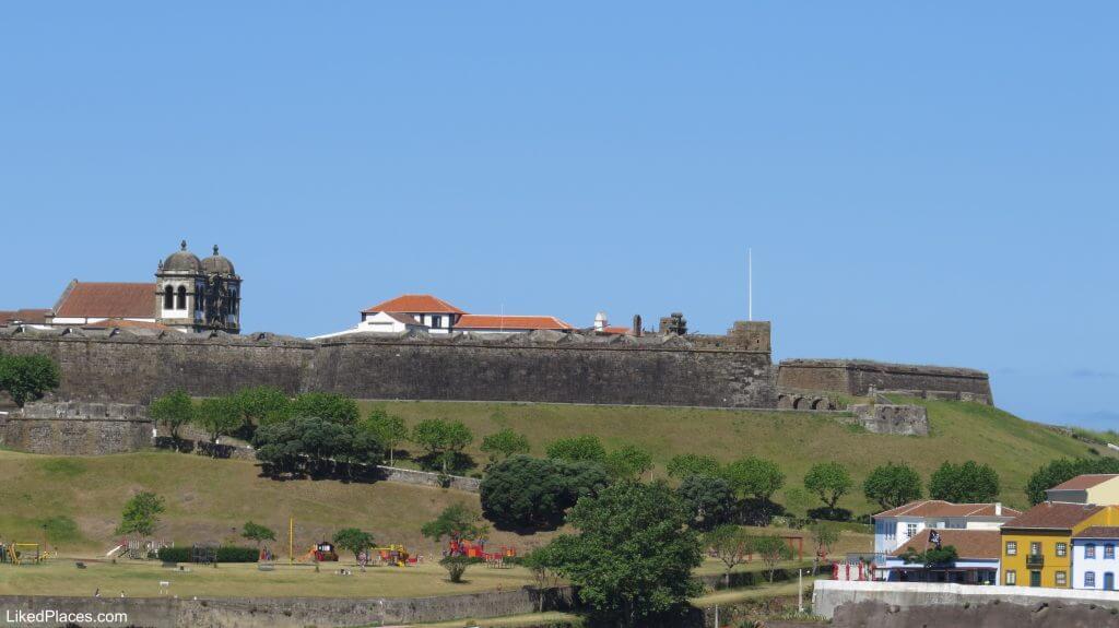 Fortress of São João Baptista, Angra do Heroismo, Terceira Island