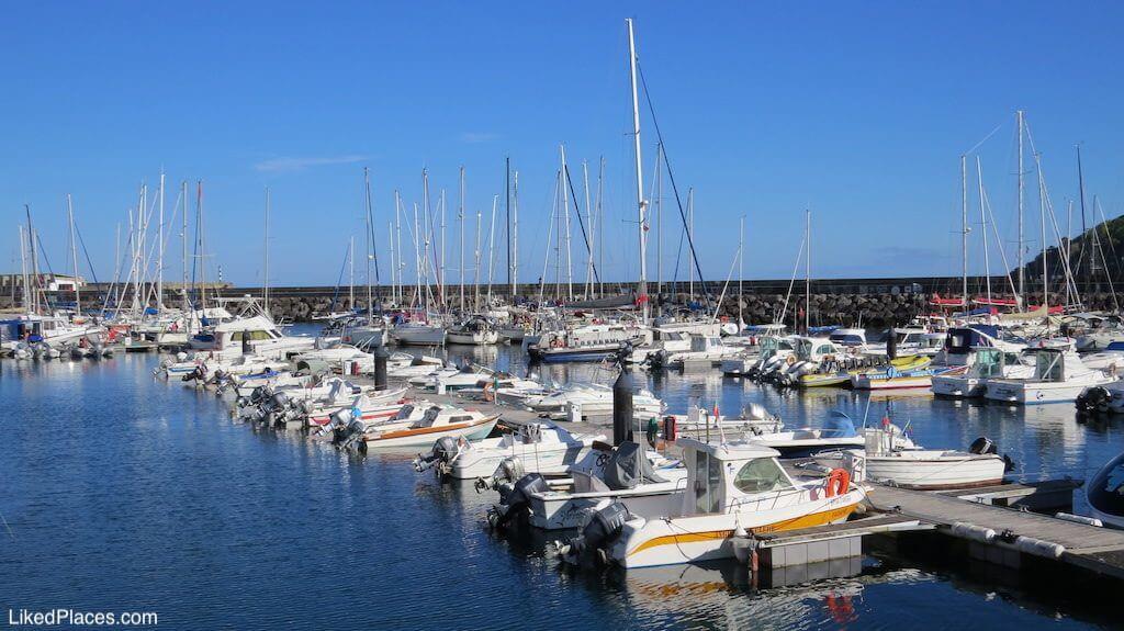 Marina de Angra do Heroísmo, Ilha Terceira, Açores, Island