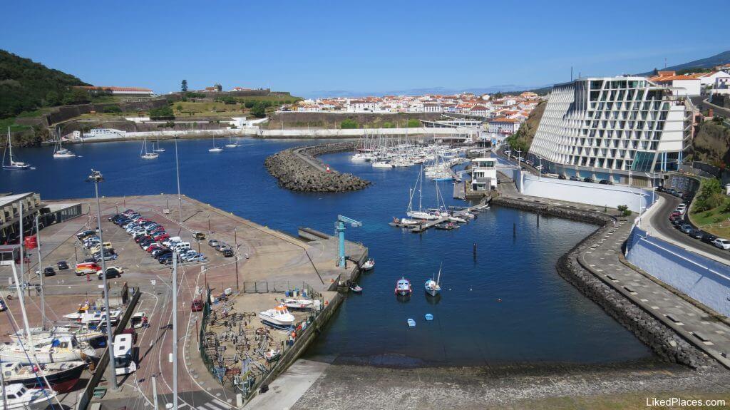 Porto das Pipas and Angra Marina, Angra do Heroismo, Terceira Island