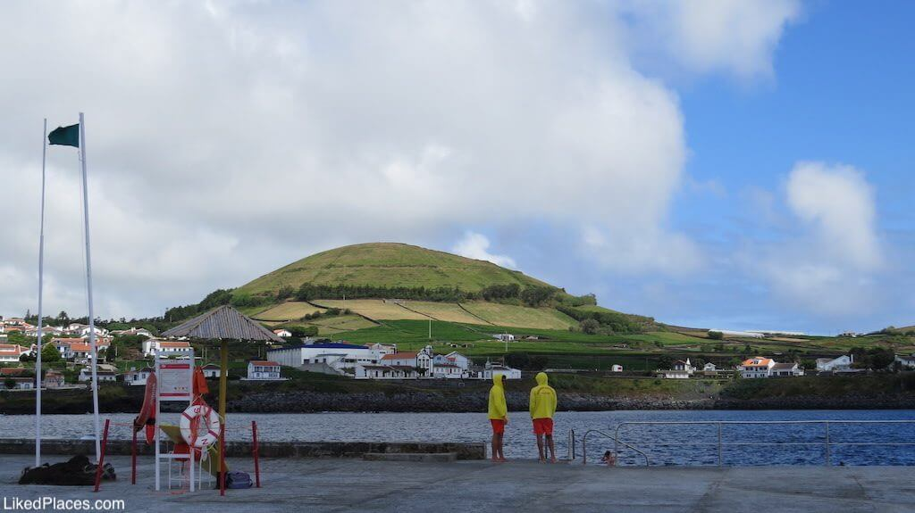 Piscinas Naturais de Porto Martins, Ilha Terceira, Island
