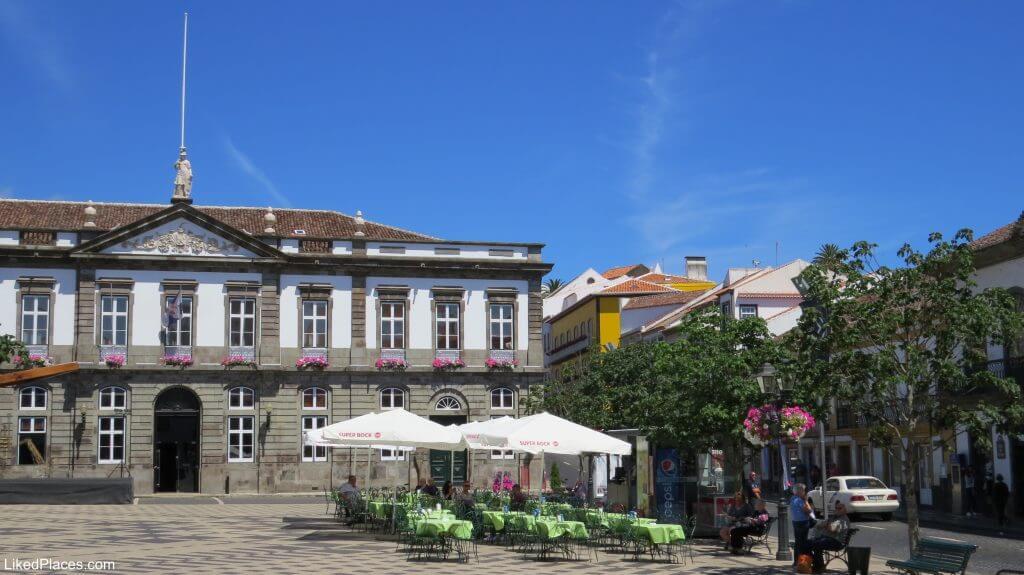 City Hall in Praça Velha, Angra do Heroismo, Terceira Island