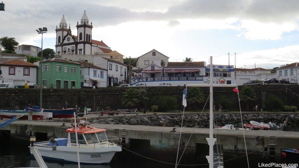 Restaurante Beira Mar, in São Mateus, Terceira Island