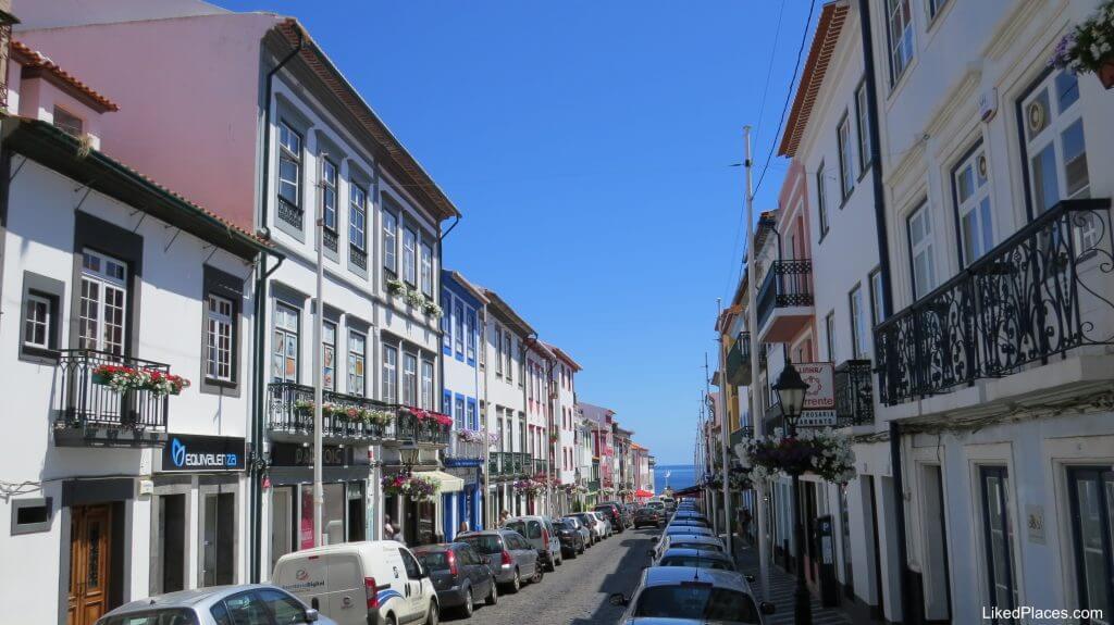 Rua de São João, Angra do Heroismo, Terceira Island