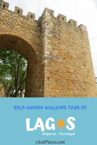 Self Guided Walking Tour in Lagos, Algarve