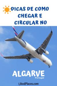 dicas como chegar e circular no Algarve