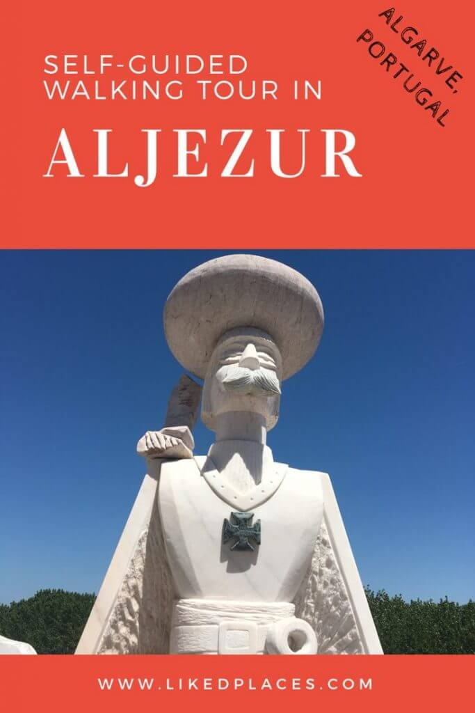 self guided walking tour Aljezur, Algarve