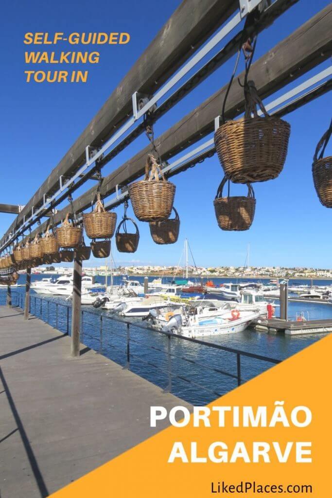 self guided walking tour Portimão Algarve