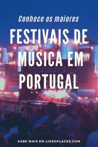 PIN dos Principais Festivais de Música em Portugal - palco de um espetáculo no rock in rio com assistência