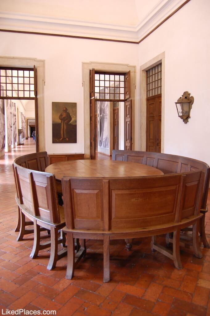 Salão Grande dos Frades no Palácio de Mafra
