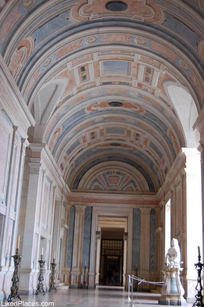 Sala da Benção no Palácio Nacional de Mafra