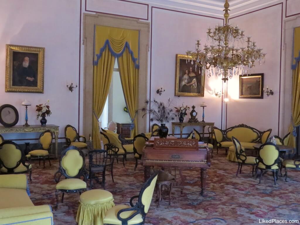 Sala da Música no Palácio de Mafra Palace Music Room