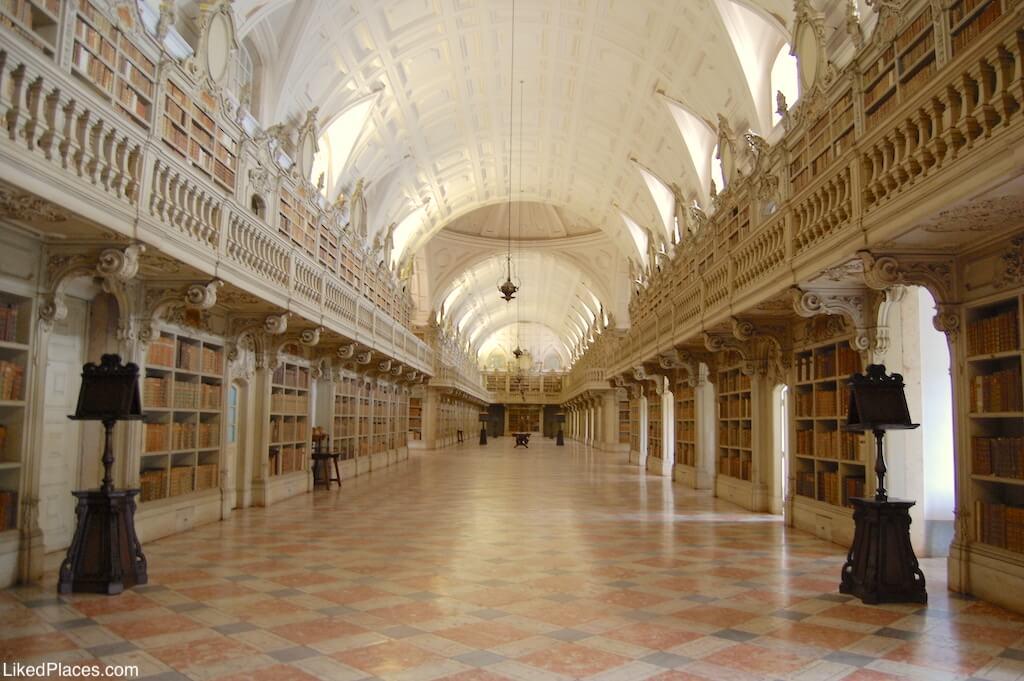 Palacio Mafra Biblioteca
