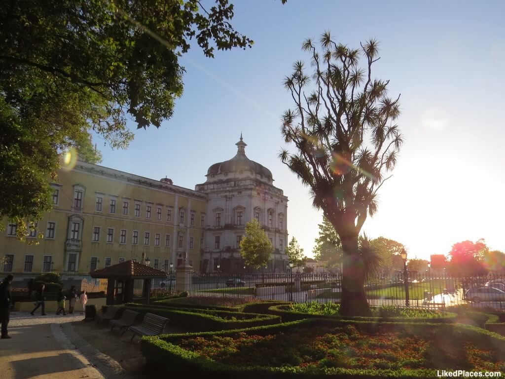 Jardim do Cerco e Palácio de Mafra
