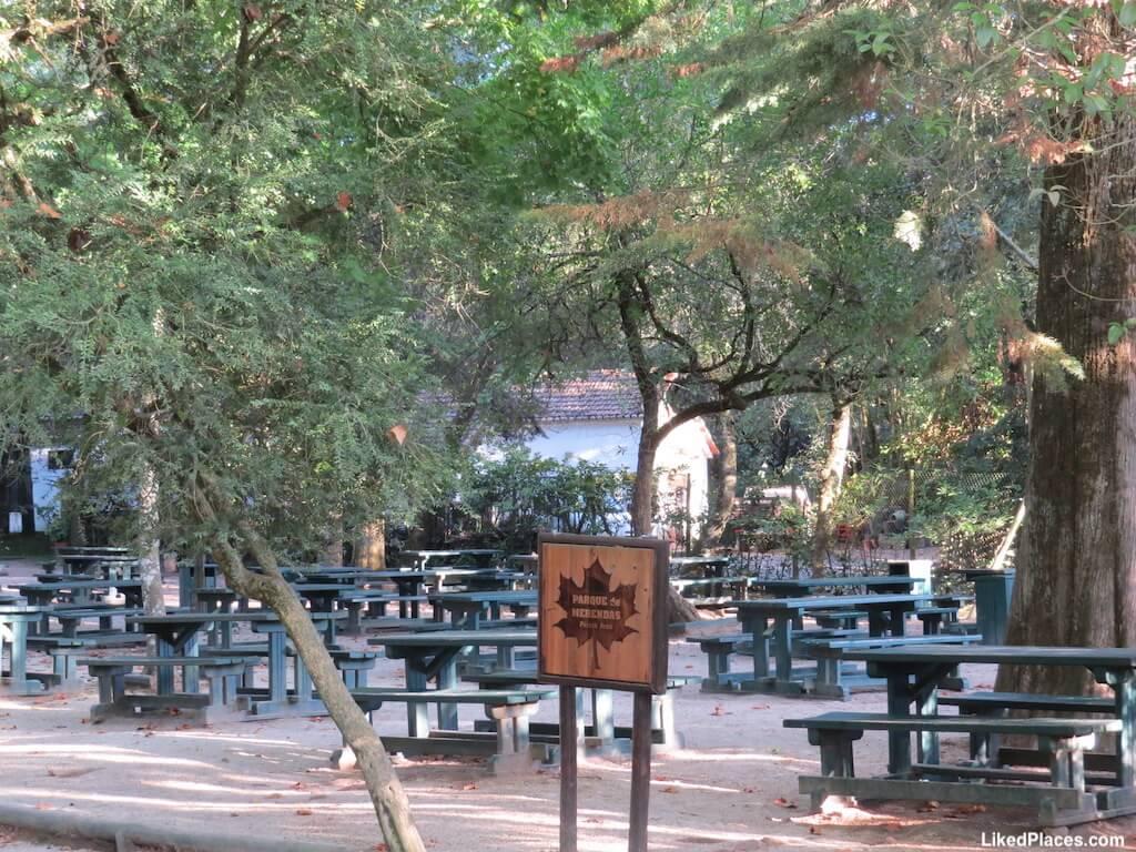Parque de Merendas no Jardim do Cerco