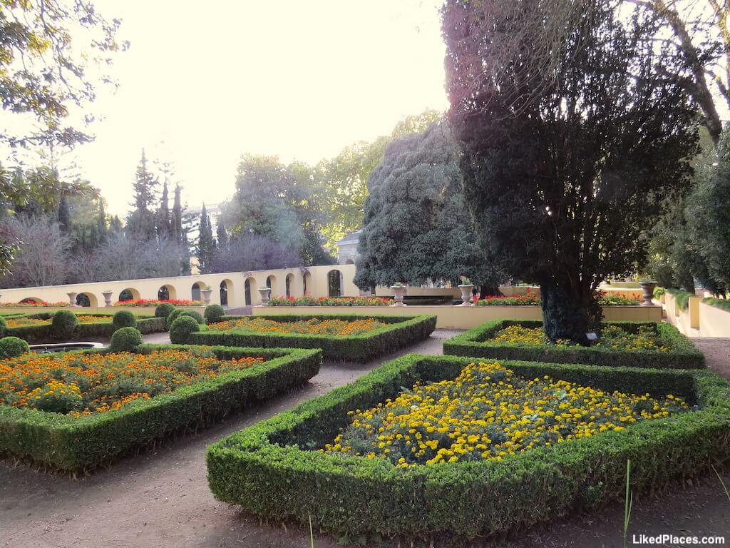 Jardim do cerco aqueduto