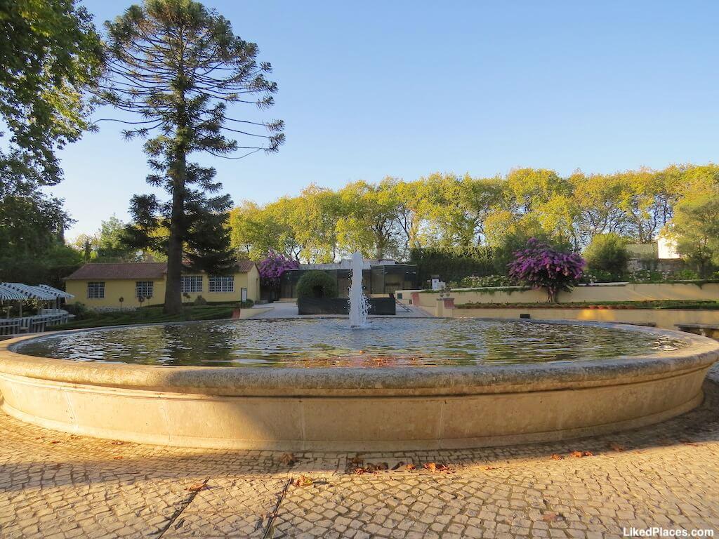 Lago no Jardim do Cerco
