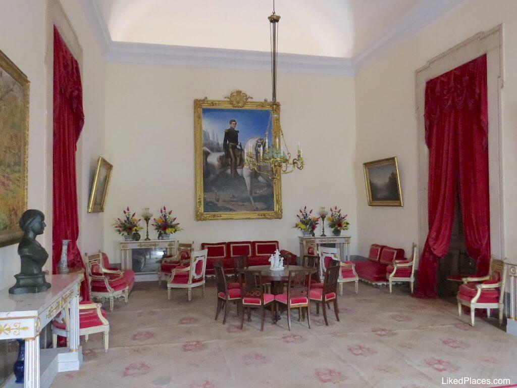 Sala de D Pedro V no Palácio de Mafra