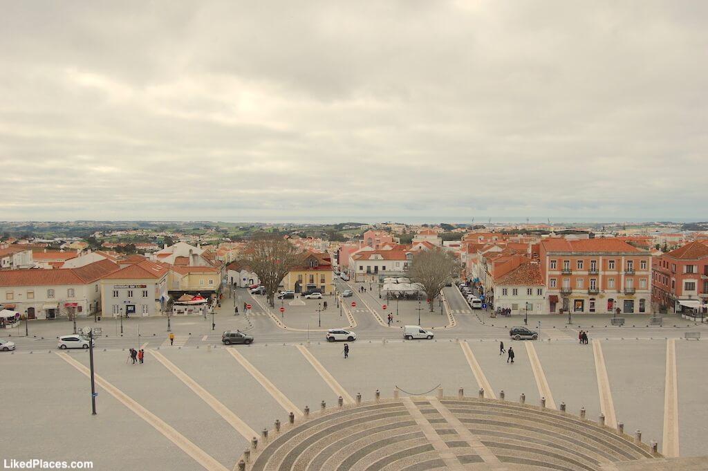 Vista de Mafra a partir o Palácio de Mafra
