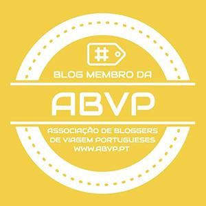 Selo ABVP Associação de Bloggers de Viagem Portugueses
