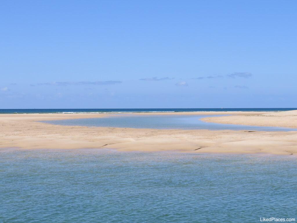 Lagoas na Barra da Fuseta