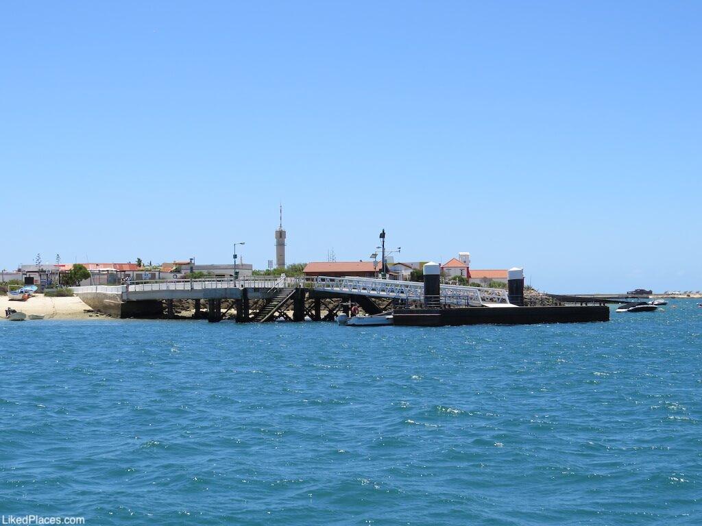 Cais do Farol (localidade), Ilha da Culatra. Farol Pier, on Culatra Island