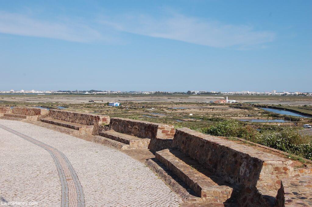 Canhoeiras no Revelim de Santo António, em Castro Marim