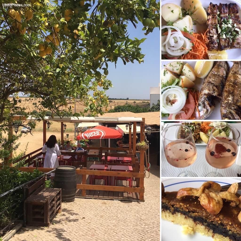 Restaurante Casa Velha em Cacela Velha