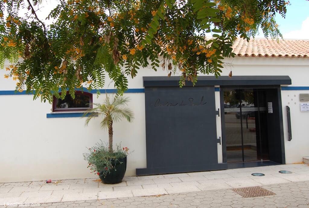 Entrada da Casa do Sal, em Castro Marim